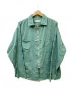 NEON SIGN()の古着「カバーオールジャケット」|グリーン