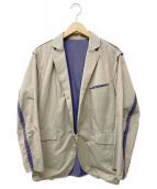 PHINGERIN(フィンガリン)の古着「PINCHY BLAZER」|カーキ