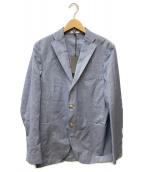 BOGLIOLI(ボリオリ)の古着「3Bジャケット」|ブルー