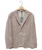 BOGLIOLI(ボリオリ)の古着「Giacca K Jacket」 ブラウン