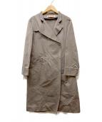 MARNI(マルニ)の古着「デザインコート」|ピンク