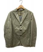 BOGLIOLI(ボリオリ)の古着「3Bテーラードジャケット」|カーキ