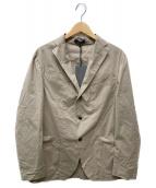 BOGLIOLI(ボリオリ)の古着「ストレッチテーラードジャケット」|ベージュ