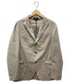 BOGLIOLI(ボリオリ)の古着「ストレッチテーラードジャケット」 ベージュ