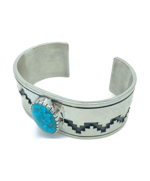 DINEH(ディネー)DINEH (ディネー) ターコイズバングル シルバー sterling silverの古着・服飾アイテム