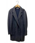 ALEXANDER WANG(アレキサンダーワン)の古着「シャギーチェスターコート」|グレー