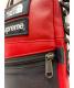 中古・古着 SUPREME×THE NORTH FACE (シュプリーム × ザノースフェイス) Leather Shoulder Bag レッド×ブラック 18AW:24800円