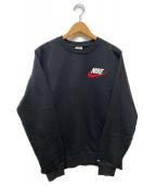 SUPREME×NIKE(シュプリーム × ナイキ)の古着「Crewneck Sweatshirt」|ブラック