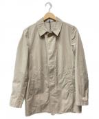 BOGLIOLI(ボリオリ)の古着「ステンカラーコート」|ベージュ