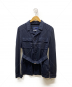 Fraizzoli(フライツォーリ)の古着「ミリタリージャケット」|ネイビー