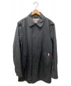 HUNTER(ハンター)の古着「コーティングステンカラーコート」|グレー