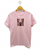 flagstuff()の古着「KATANAプリントTシャツ」|ピンク
