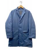 DESCENTE PAUSE(デサントポーズ)の古着「DOWN CHESTER COAT」 ネイビー