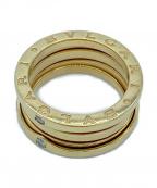 BVLGARI()の古着「3バンドダイヤリング」 ゴールド