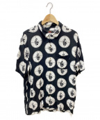 Supreme×Undercover(シュプリーム×アンダーカバー)の古着「Public Enemy Rayon Shirt」|ブラック