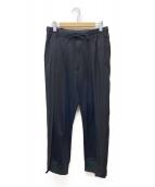 Y-3(ワイスリー)の古着「PATCHWORK TRACK PANTS」|ブラック
