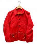 LEVIS RED(リーバイスレッド)の古着「赤染めデニムコート」 レッド