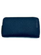 BURBERRY(バーバリー)の古着「ラウンドファスナー財布」|ネイビー