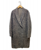 6(ROKU) BEAUTY&YOUTH(ロク ビューティアンドユース)の古着「ダブルツイードコート」 グレー