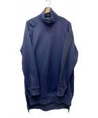 Y-3(ワイスリー)の古着「FT HIGH NECK SWEATER」|ネイビー