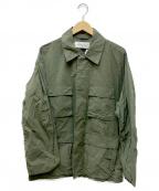 MINOTAUR(ミノトール)の古着「アーミージャケット」|オリーブ