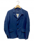 MINOTAUR(ミノトール)の古着「エアーテーラードジャケット」|ネイビー