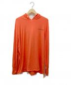 MINOTAUR(ミノトール)の古着「プルオーバーパーカー」|オレンジ