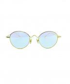 金子眼鏡(カネコメガネ)の古着「伊達眼鏡」|ゴールド