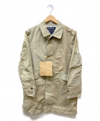 MINOTAUR(ミノトール)の古着「WRINKLES COAT」|ベージュ