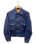 WAREHOUSE(ウエアハウス)の古着「2ND TYPEデニムジャケット」|インディゴ