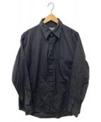 ()の古着「カラーデザインシャツ」 ブラック