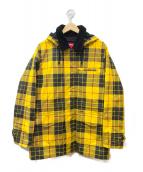 Supreme(シュプリーム)の古着「Dry Wax Barn Coat」|ブラック×イエロー