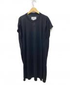 Maison Margiela 4(メゾンマルジェラ4)の古着「ノースリーブニットワンピース」 ブラック
