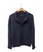 ()の古着「ニットジャケット」 グレー