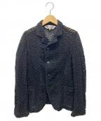COMME des GARCONS(コムデギャルソン)の古着「レースジャケット」|ブラック