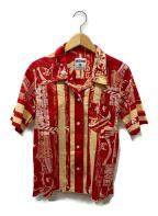 MOSCHINO(モスキーノ)の古着「アロハシャツ」|レッド