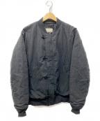PHIGVEL MAKERS(フィグベルマーカーズ)の古着「AVIATOR JACKET」|ブラック
