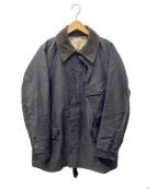 PHIGVEL MAKERS(フィグベルマーカーズ)の古着「トラベラーズコート」|ブラック