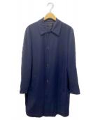 COMME des GARCONS(コムデギャルソン)の古着「チェスターコート」|ネイビー