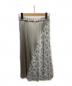 NINE(ナイン)の古着「プリーツスカート」|グレー