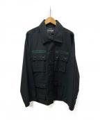 EXAMPLE(エグザンプル)の古着「ミリタリーシャツ」 ブラック