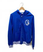 BILLIONAIRE BOYS CLUB(ビリオネアボーイズクラブ)の古着「ジップパーカー」 ブルー