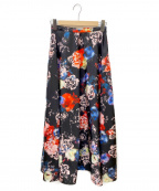 PINKO(ピンコ)の古着「花柄ロングスカート」|マルチカラー