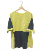 C.E(シーイー)の古着「オーバーサイズポケットTシャツ」|イエロー