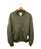 PHENOMENON()の古着「MA-1ジャケット」|オリーブ