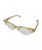 EFFECTOR(エフェクター)の古着「伊達眼鏡」 イエロー