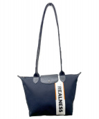 Longchamp by Shayne Oliver(ロンシャン バイ シェーン オリバー)の古着「トートバッグ」|ブラック