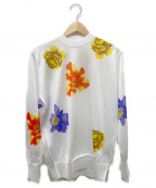 TOGA ARCHIVES(トーガ・アーカイブス)の古着「Flower print pullover」|ホワイト