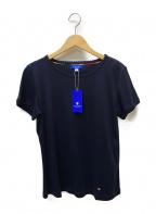 BLUE LABEL CRESTBRIDGE(ブルーレーベルクレストブリッジ)の古着「Tシャツ」 ネイビー