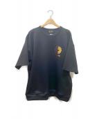 REZARD×TAKASHI MURAKAMI×HIKARU(リザード × 村上隆 × ヒカル)の古着「kaikaikiki Tシャツ」|ブラック
